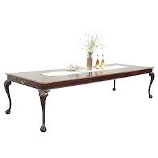 "Henredon Rittenhouse Square Vintage Dining Table, Extends 10' 4"" #29103"
