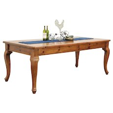 Country Pine Vintage Farmhouse Harvest Dining or Kitchen Table #29150