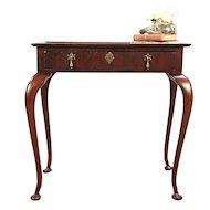 Antique George II Style Mahogany Tea or Hall Table, England #29206