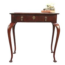 Antique George II Style Mahogany Tea or Hall Table, England #29206