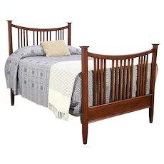 Arts & Crafts Mission Oak Full Size Antique 1905 Craftsman Bed #29293
