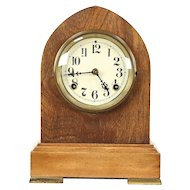 New Haven Antique 1900 Mantel Clock, Cleaned & Oiled #29338