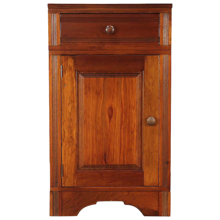 Country Pine Wainscoting Pantry Cabinet Or Island, Crate Prospects, MN :  Harp Gallery Antique Furniture   Ruby Lane