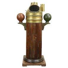 Kelvin Hughes Smith Antique English Nautical Binnacle Ship Compass #29665