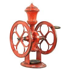 Fairbanks Morse Antique Country Store Iron Coffee Mill or Grinder #29736