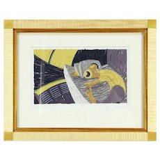 The Snore Original Serigraph or Silk Screen Artist Proof Bruce Bodden '92 #30254