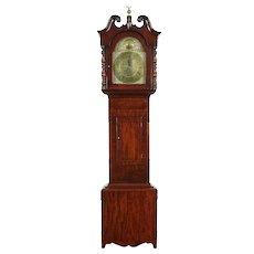 Georgian Antique 1820 Tall Case Grandfather Clock, Dalgliesh of Scotland #30262