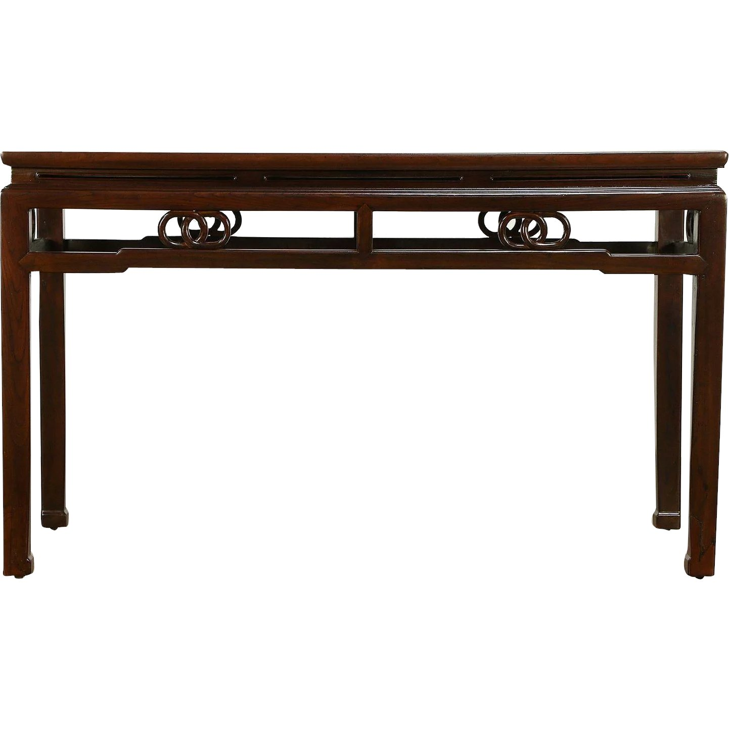 Chinese Carved Antique Ash Hall Console Or Sofa Table 30324