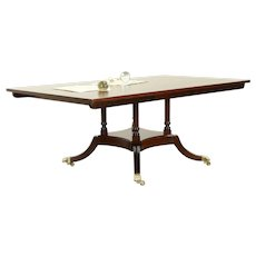 Cherry Traditional Vintage Conference or Dining Table, Signed Harden  A #30571