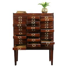 Stacking 36 Drawer Antique 1915 File, Collector or Music Cabinet, Weis #31278