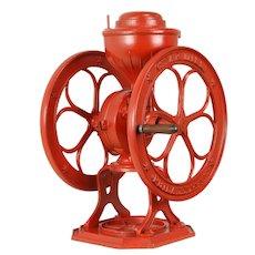 "Coffee Grinder, 15"" Wheels, Antique Star Mill No. 7, Philadelphia #31335"