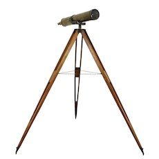 Brass Antique 1900 Astronomical Telescope & Tripod Stand #31369