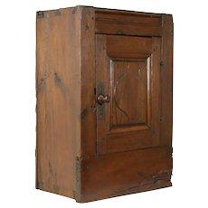 Pine Italian 1750 Antique Cabinet Architectural Salvage Cupboard #31681