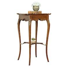 Victorian Antique Carved Oak Lamp Table, Plant Stand, Sculpture Pedestal #31850