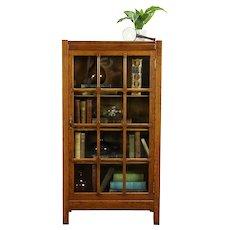 Arts & Crafts Mission Oak Antique Bookcase or Craftsman Bath Cabinet #31925