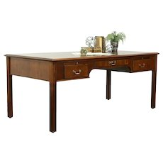 Traditional Vintage Walnut Library or Office Desk Joffco IN #33164