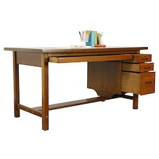 Drafting Table or Vintage Desk, Wine Counter, Kitchen Island, Mayline #34250