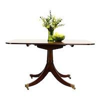 Georgian Design Vintage Mahogany Dining or Breakfast Table, Tilt Top #36102