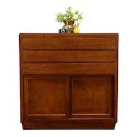 Mahogany Midcentury Modern Tall Dresser, Chest of Drawers, Highboy, RWay #38551