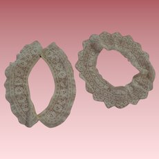 Pretty Lace Collar and Lace Piece for Doll clothes