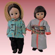 "Alexander-kins ""Japan"" and ""China"" 1970's"