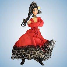 Naps Spanish Doll House Lady Dancer Some TLC