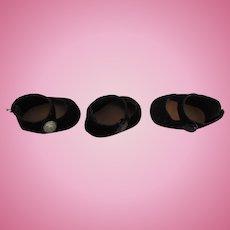 Three Single Side Snap MA 8 Inch Shoes