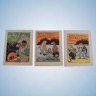 Miniature Thornton Burgess Animal Story Books Illustrator John Eggers