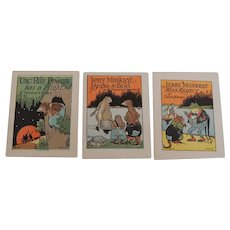 Miniature Thornton Burgess Animal Story Books Illustrator John Eggers
