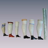 Early China Doll Single Legs for Replacements