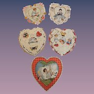 Five Charming Vintage Valentines from 1920's