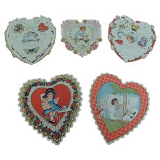 Lovely Heart Shaped Valentines with Cute Children