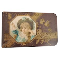 Charming Early Autograph Book Dated 1890