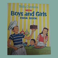 Betty Crocker's New Boys and Girls Cook Book from 1965