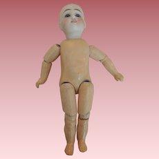 Petite German Closed Head Sonneberg Belton-Type Child To Dress