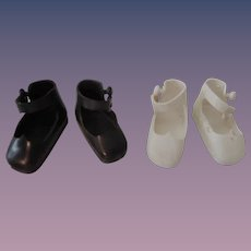 Two Pair Original Tiny AC Betsy McCall Shoes