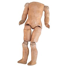 Petite Original Composition Doll Body for Repair Project
