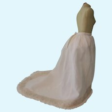 Lovely Vintage Artisan Made Fashion Doll Half Slip and Bustle
