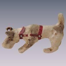 Lovely Fox Terrier Dog for Dolls Companion