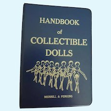 """""""Handbook of Collectible Dolls"""" Binder Great Reference Guide with Pictures"""