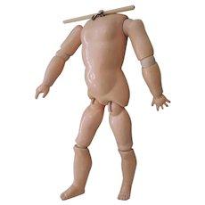 Wonderful German Marked Handwerck Doll Body