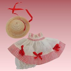 """Lovely Vogue """"Tiny Miss"""" Series Strung June Dress from 1952 #41"""
