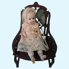 Darling Rare Artisan Jointed Knee All Bisque Cutie