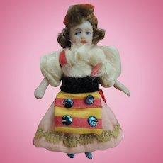 Darling Little SFBJ All Original Lilliputian Girl