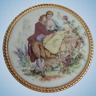 Lovely Framed Limoges France Painted Porcelain