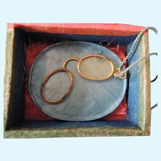 Tiny Metal Lorgnette for Your French Fashion Doll * Some TLC