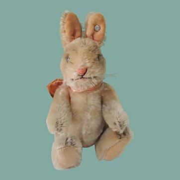 """Nice Little Vintage Steiff """"Niki"""" Rabbit"""