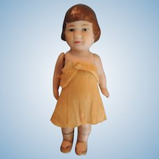 "Darling All Bisque German Hertwig ""Baby Peggy"" Doll"