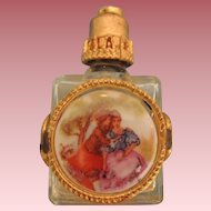 Lovely French Miniature Perfume Bottle