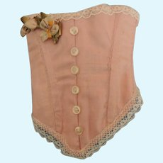 Lovely Artist Made Pink Doll Corset